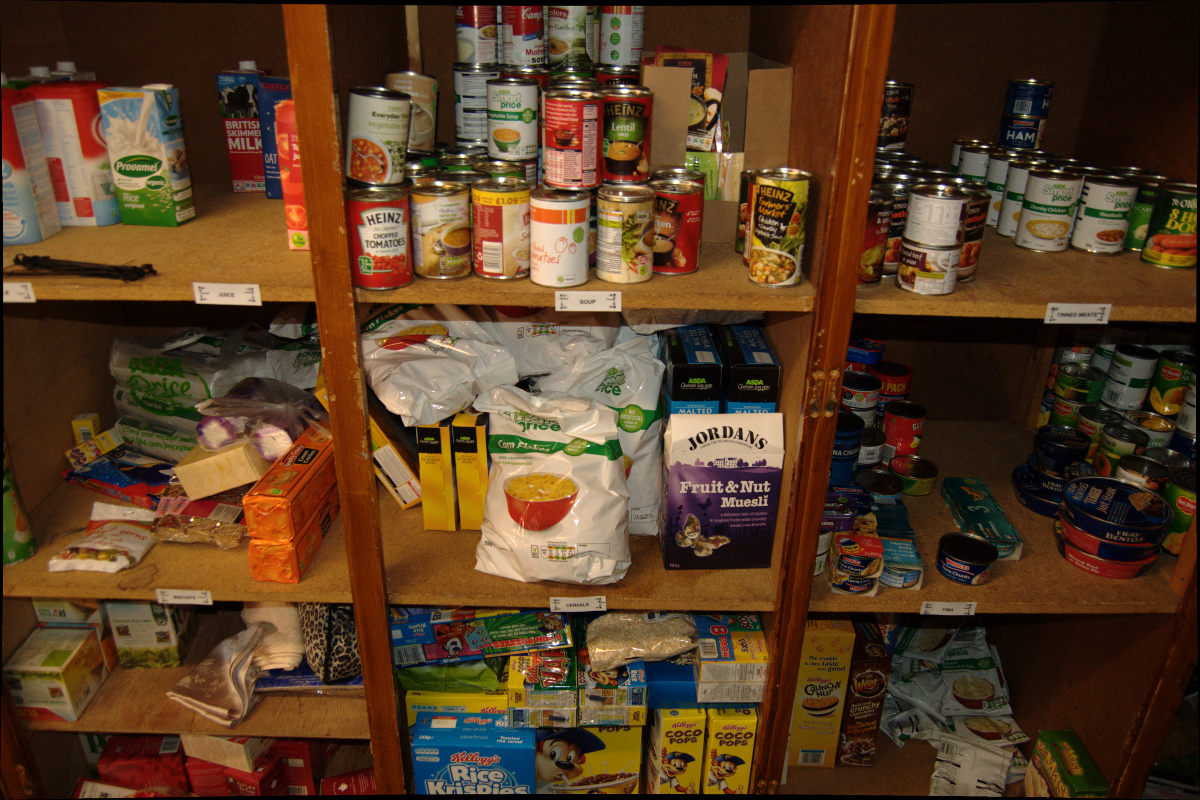 Who Can Give A Food Bank Voucher