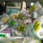 great yarmouth foodbank morrisons trolley day - charity food bank appeal